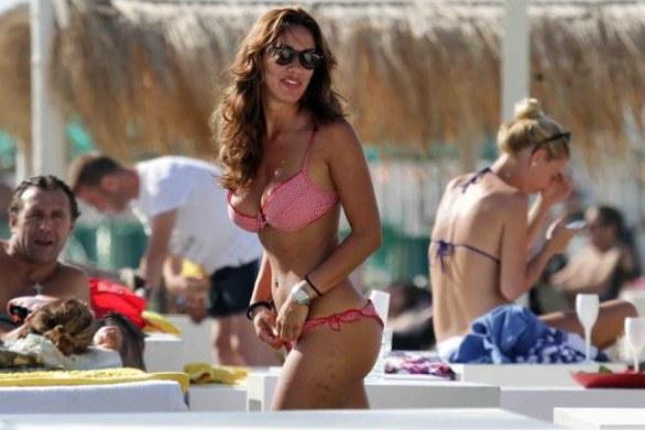 Calendario Melita.Melita Toniolo In Vacanza In Toscana Super Sexy