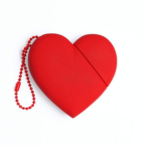 Regali San Valentino, USB Tribe a forma di cuoreMagazine femminile, moda donna  Leichic.it