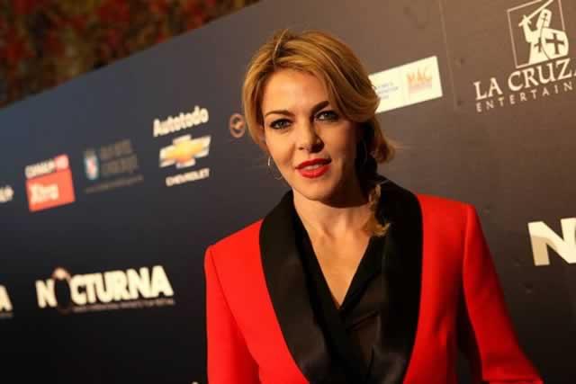 Claudia Gerini in Krizia