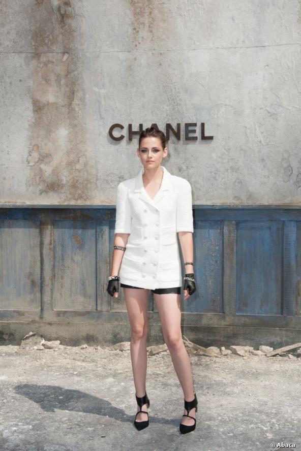 Kristen Stewart alla sfilata Chanel Haute Couture