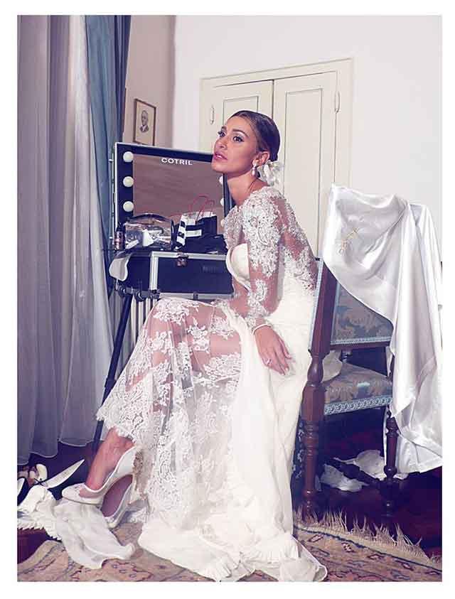 Scarpe Sposa Vip.Matrimonio Di Belen Rodriguez Ecco Le Scarpe Della Sposa