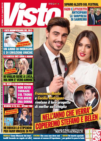 Francesco Monte e Cecilia Rodriguez coppia dell'anno  Un