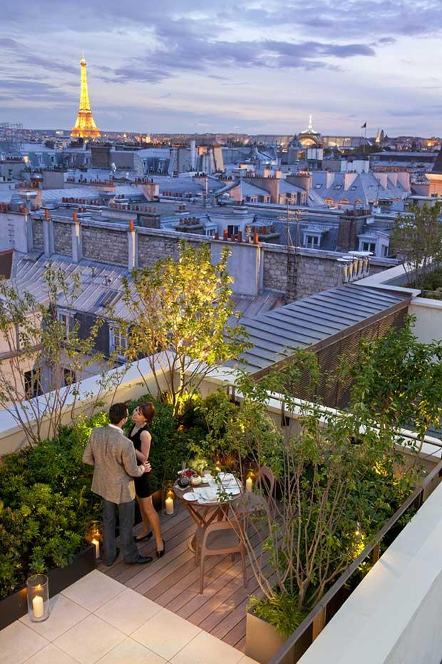 Mandarin-Oriental,-Paris---Panoramic-Suite,-terrace