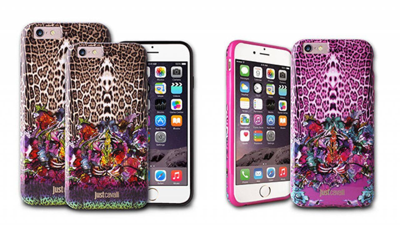 Cover per iPhone 6 e Plus: i modelli creati da Puro per Just Cavalli