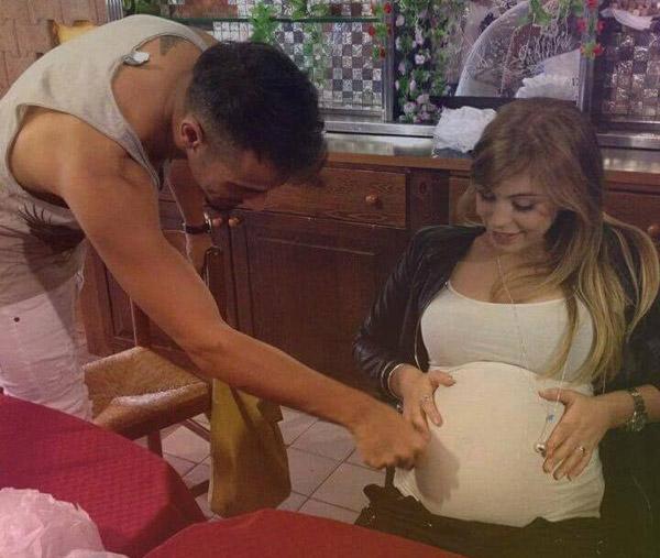 aldo-alessia-gravidanza