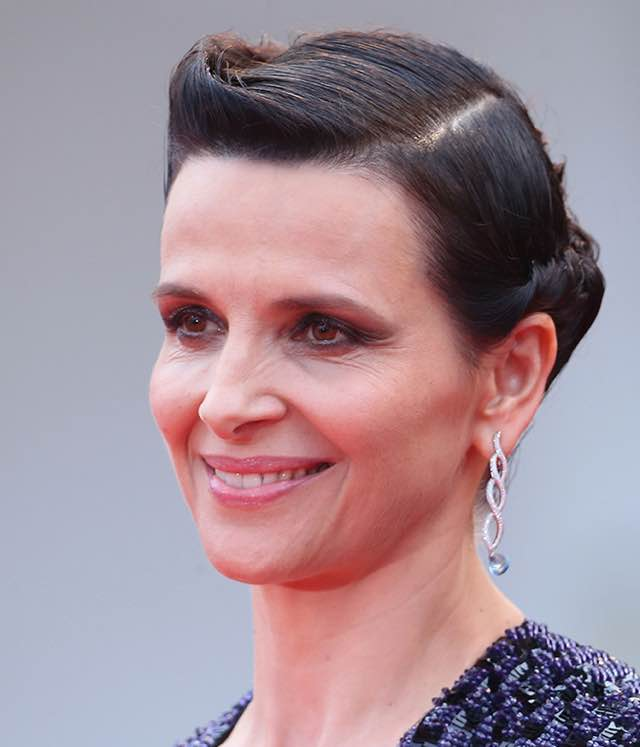 VENICE, ITALY - SEPTEMBER 05:  Juliette Binoche attends a premiere for 'The Wait' during the 72nd Venice Film Festival at  on September 5, 2015 in Venice, Italy.  (Photo by Franco Origlia/Getty Images)