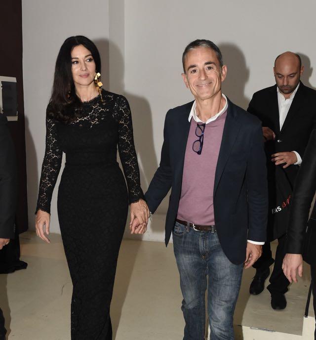 spesso Monica Bellucci ospite al festival del cinema di Roma per l'evento  PZ67