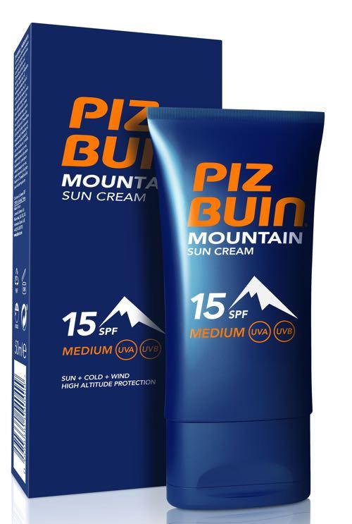 Mountain Suncream SPF15 + Pack