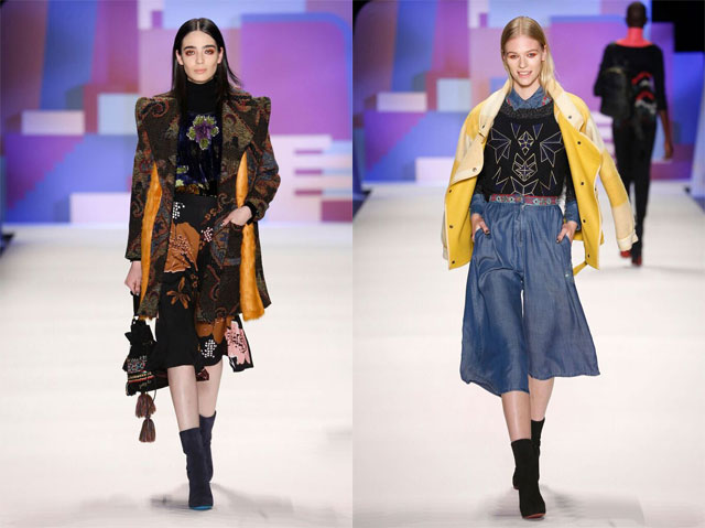 New York Fashion Week La Sfilata Di Desigual Con La Collezione