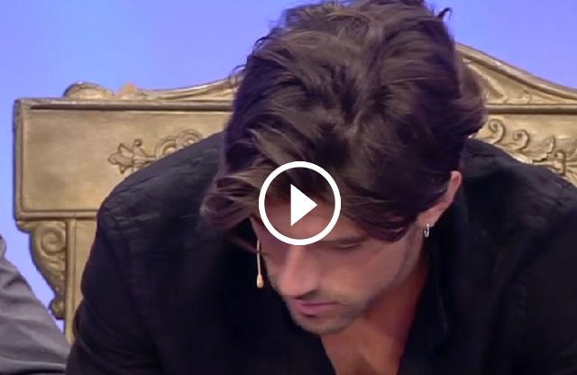 Uomini e Donne il video della scelta di Andrea Damante