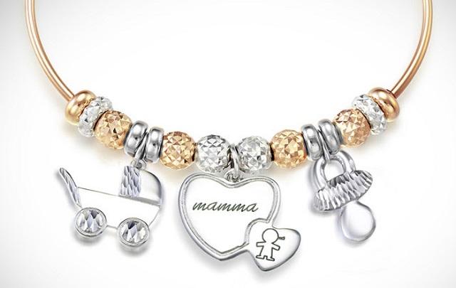 Festa della mamma Love Beats il bracciale è personalizzato per ogni mamma