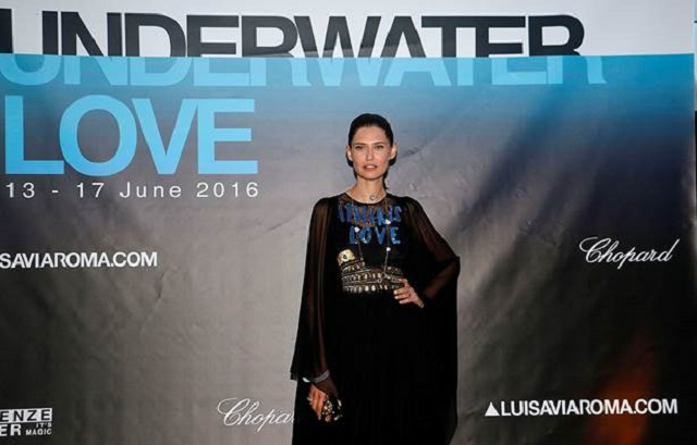 "Bianca Balti ospite all'evento di beneficienza ""Underwater Love"" a Firenze"