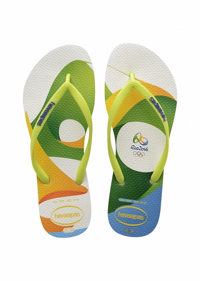 Il Comitato olimpico di Rio 2016 e Havaianas presentano una nuova collezione di sandali