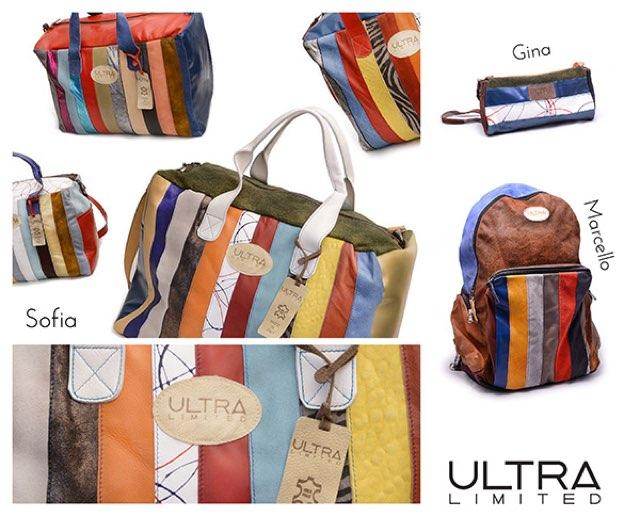 La nuova linea di borse firmata Ultra Limited