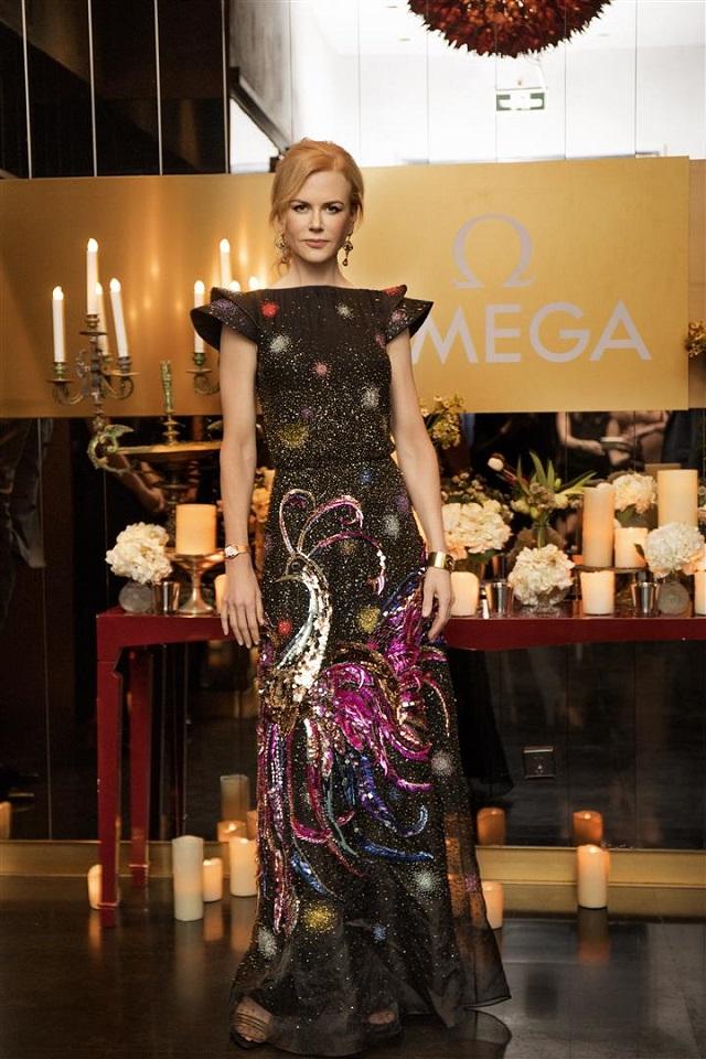 Nicole Kidman ospite nello store OMEGA all'Oriental Plaza in Cina