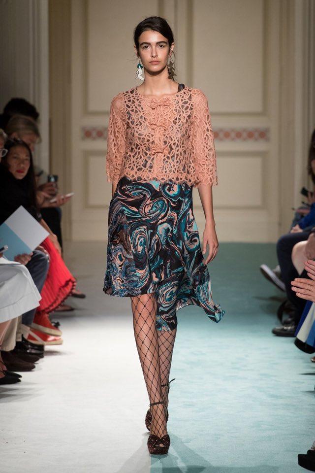 pretty nice d0bfb b2c32 Sfilata Kristina Ti Milano moda donna settembre 2016 ...