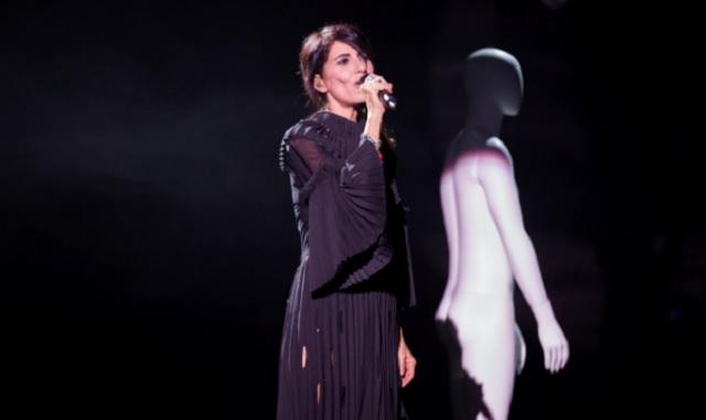 Giorgia abito look Festival di Sanremo 2017 che stilista ha scelto