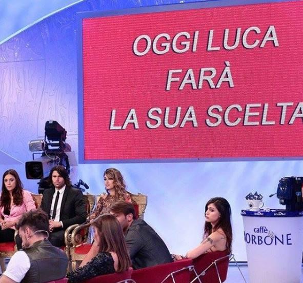 Uomini e Donne, la scelta di Luca Onestini