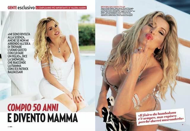 Valeria Marini e l'annuncio choc: