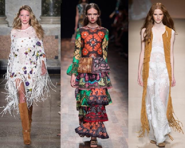 Lo stile gipsy torna di moda nell'estate 2017