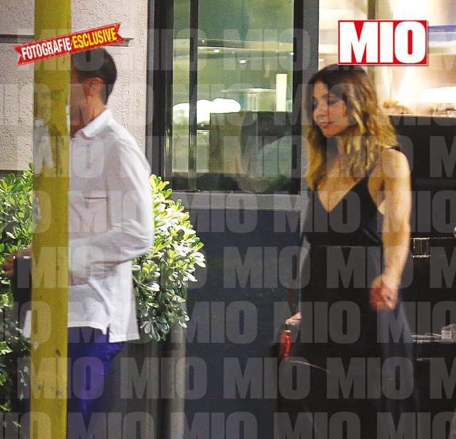 Allegri e Ambra Angiolini problemi dopo una cena insieme a Milano?