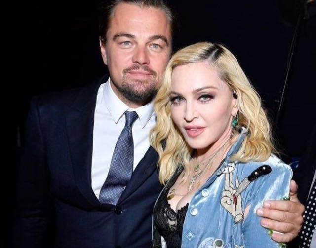 Madonna con Leonardo di Caprio per la salute della terra