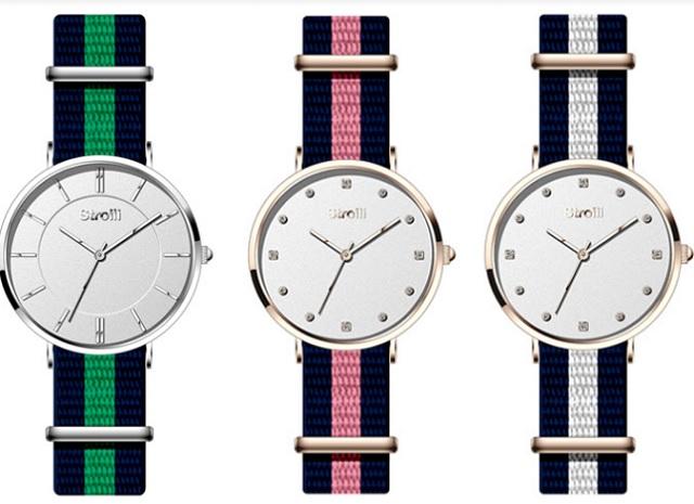 Un concept minimalista per gli orologi dell'estate