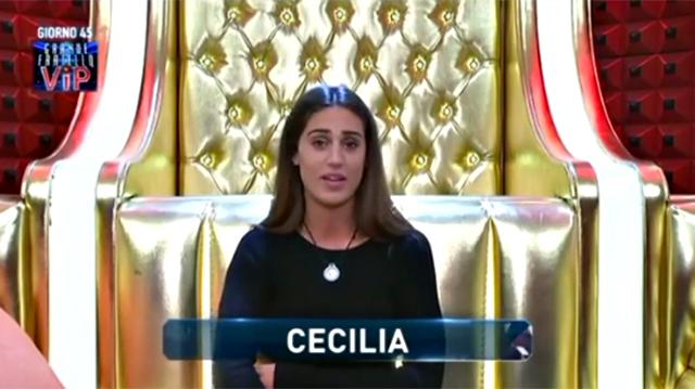 Gf Vip Cecilia Rodriguez pronta a lasciare Francesco Monte? La dichiarazione