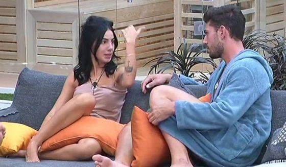 Gf Vip Cecilia fa l'amore con Francesco Monte? Parla la De Lellis