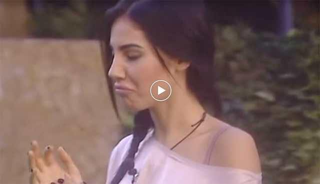 Gf Vip Damante manda un aereo a Giulia e lei si arrabbia VIDEO