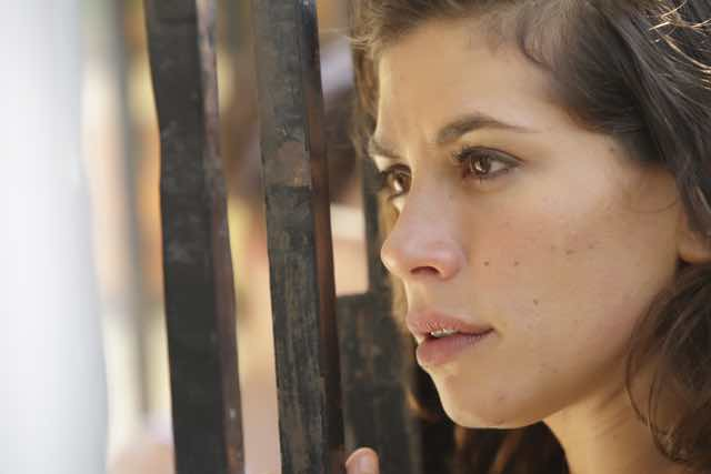 Rosy Abate foto inedite della fiction con Giulia Michelini