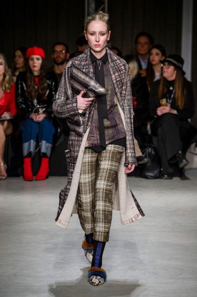 Sfilata Cividini Milano Moda donna febbraio 2018 foto