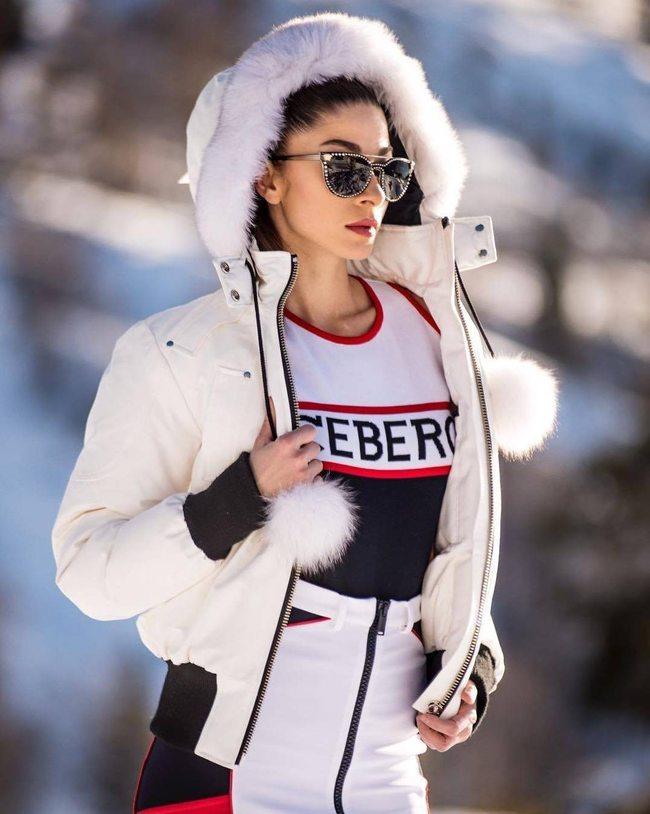 Sfilata Iceberg Milano moda donna febbraio 2018 FOTO