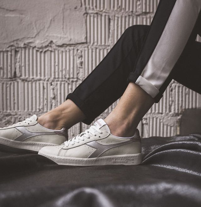 Sneakers Diadora Game Low Metallic la donna vicina al mondo dello sport
