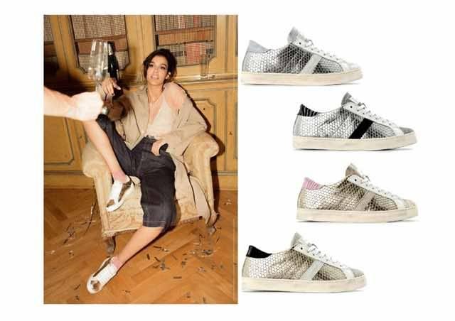 Le sneakers dell'estate 2018 sono ricoperte di glitter