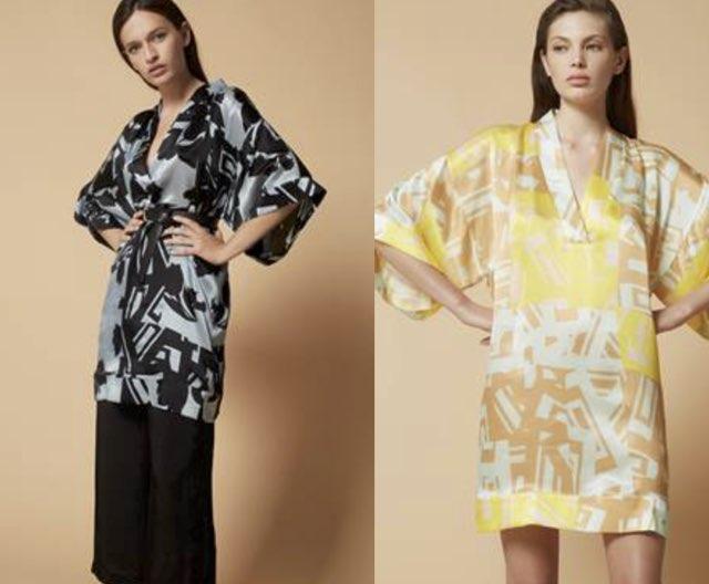 9c9e118163 Moda donna primavera estate 2018 tra fiori e leggerezza: il kimono ...
