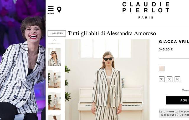 Alessandra Amoroso Amici serale che stilista ha scelto e che abito indossa?