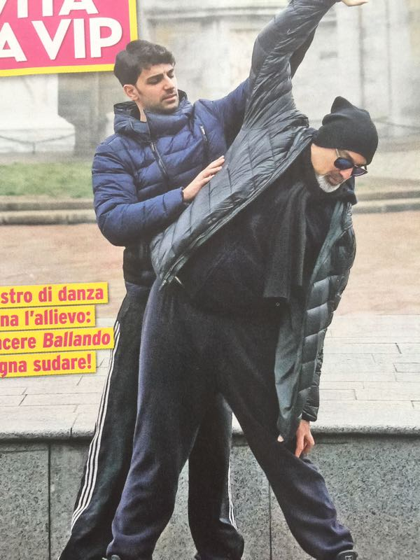 Ballando con le stelle Ciacci e Todaro si allenano anche per strada come una vera coppia
