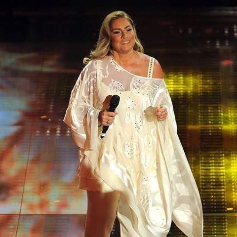 Romina Power abito stilista a Ballando con le stelle cosa indossa?