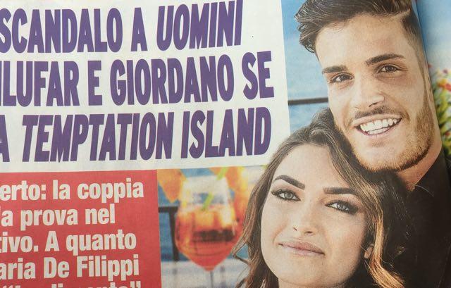 Temptation Island 2018 scoop di Nuovo Tv Nilufar e Giordano ultima coppia?