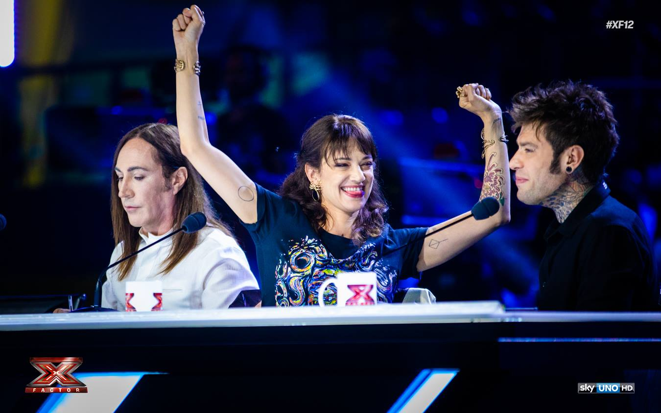 X Factor 6 settembre 2018 Asia Argento c'è o non c'è? Chi la sostituisce?