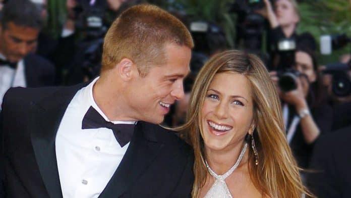 Brad Pitt e Jennifer Aniston di nuovo insieme sul Lago di Como ma solo per lavoro