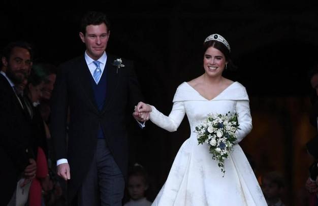 Abito da sposa e stilista principessa di York il matrimonio reale