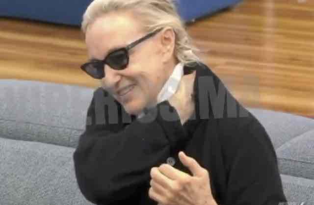 Eleonora Giorgi gaffe al Grande Fratello Vip insulta un famoso cantante