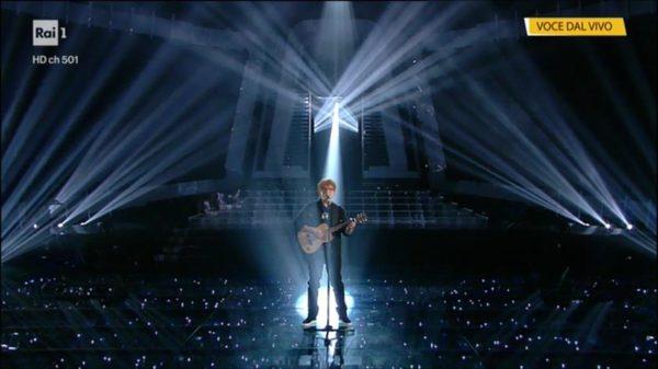 Ed Sheeran Massimo di Cataldo imitazione a Tale e Quale show, secondo posto