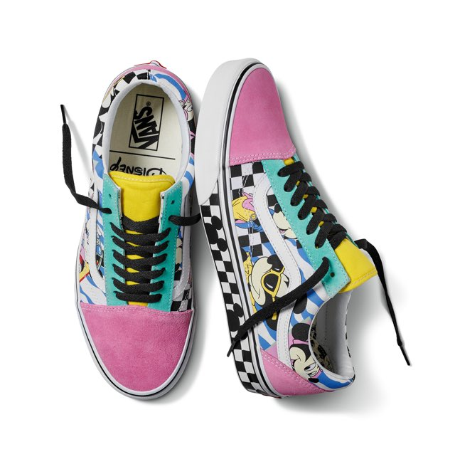 scarpe vans topolino donna