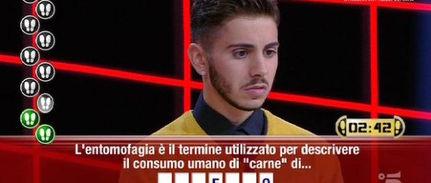 Nicolò Scalfi campione di Caduta Libera vince anche l'ultima puntata