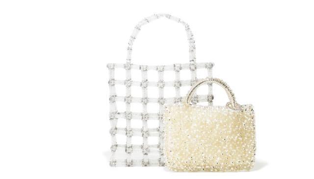 La borsa da donna di tendenza con i cristalli Swarovski
