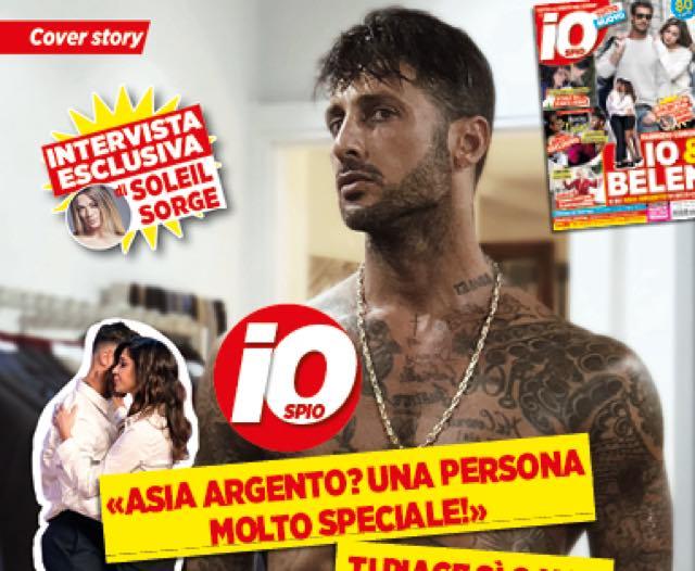 """Fabrizio Corona sta con Asia Argento ma parla di Belen:""""Io e lei..."""""""