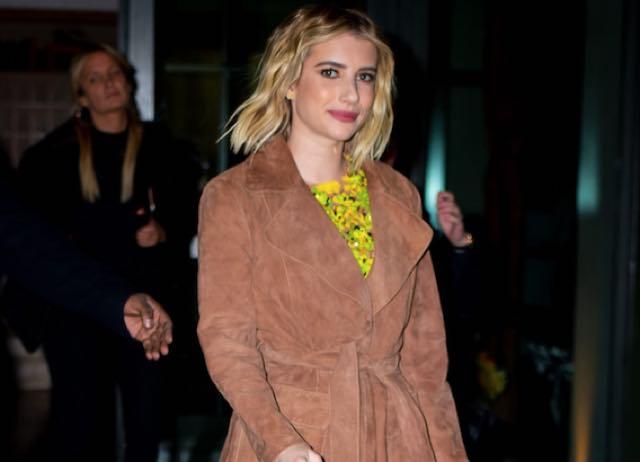 Emma Roberts stilosa per le strade di New York